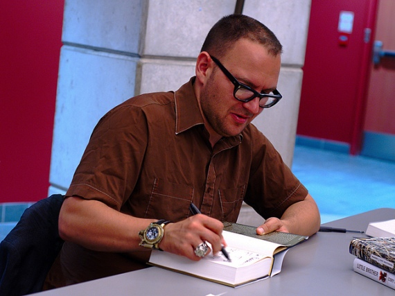 Cory Doctorow At Book Signing