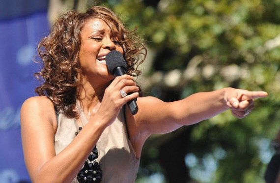 Whitney Houston Performance in New York City