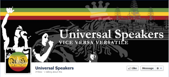 Universal Speakers Facebook Timeline Photo and Profile Picture