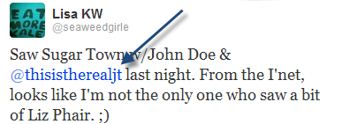 A tweet about @thisistherealjt